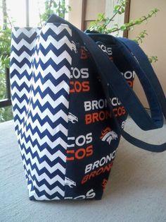 NFL Denver Broncos Chevron Tote Bag