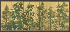 Trees by Master of I-nen Seal, 1600-1630 | Freer Gallery of Art and Arthur M. Sackler Gallery, Smithsonian