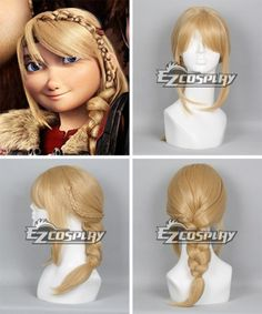 How To Train Your Dragon 2 Astrid Long Braid Cosplay Wig Naruto Cosplay Costumes, Cosplay Costumes For Sale, Cosplay Wigs, Cosplay Ideas, Buy Cosplay, Costume Ideas, Halloween Costumes, The Wizard Of Oz Costumes, Peter Pan Costumes
