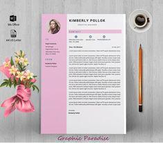 Resume template Professional resume template instant image 2 Template Cv, Resume Templates, Label Templates, Portfolio Web, Ttf Fonts, Logos Retro, Design Social, One Page Resume, Change Image