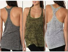 Roozt - Degree Six Clothing - Razorback Tank Trio-$20.00 Every purchase helps save hundreds of gallons of water!