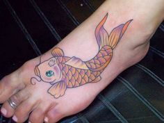 26 Best Fish Foot Tattoos Images Awesome Tattoos Fish Tattoos