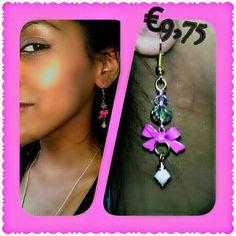 https://www.facebook.com/beejeweledjewelry swarovski/14kt goldfilled/metal bow