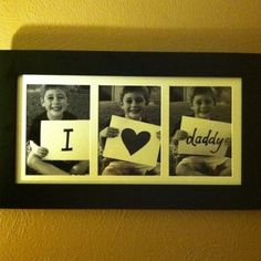 Father's Day Gift I made for my husband.  - Click image to find more DIY & Crafts Pinterest pins