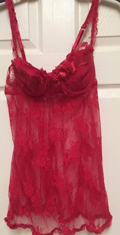 ca6f37115d0 Ambrielle Womens Red Lingerie Size Large  fashion  clothing  shoes   accessories  womensclothing  intimatessleep (ebay link)