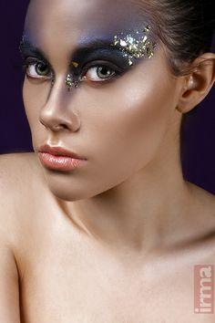 Photographer & MUA : Irma Lomidze Hair : Rosemary Garcia - Mitsu Sato Hair Academy Model : Theresa