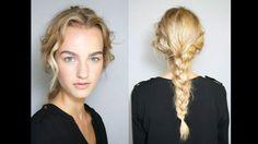 Harper's BAZAAR Spring 2014 Hair Trend Report - Old World Braids @ Alberta Ferretti.