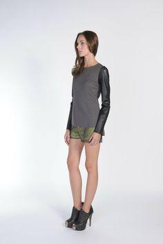SALA OVERLAY SHORTS - #stellaandjamie #makeityourown #fashion #giveaway : http://www.stellaandjamie.com/makeityourown-pinterest-contest/