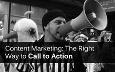 Getting your blog visitors to perform the required action. Call to actions are vitally important in CRO, here is some help on getting it right.