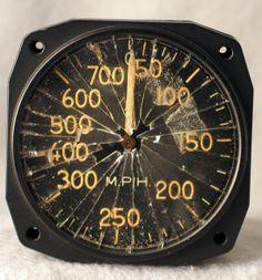 P-51 Mustang speedometer