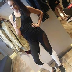 Discount This Month Women Elastic Splice Sport Leggings Fitness Yoga Pant Leggins Gym Running Tights Sportswear Trousers Professional Sports Clothes Sports Leggings, Workout Leggings, Women's Leggings, Leggings Are Not Pants, Harajuku, Running Tights, Yoga Wear, Leggings Fashion, Colorful Leggings