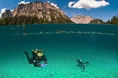 Magical Half-Underwater Photography