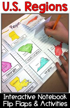 United States regions activities are fun for students with these U. Teaching USA regions to and graders with map foldables and this project makes learning the regions of the country easy. 3rd Grade Social Studies, Social Studies Activities, Teaching Social Studies, Classroom Activities, Classroom Ideas, Elementary Education, Kids Education, History Education, Teaching History