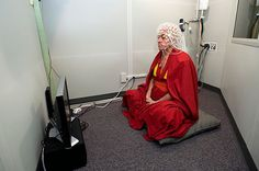 """A Buddhist Monk Shows """"Unheard Of"""" Brain Activity During Meditation.  The unusual activity in his brain accounts for what scientists say makes Ricard 'the happiest man in the world""""."""