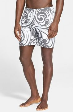 ONIA+'Calder'+Wave+Print+Swim+Trunks+available+at+#Nordstrom