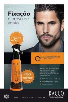 Gel Líquido Fixador Serie Premium - Racco para Homens