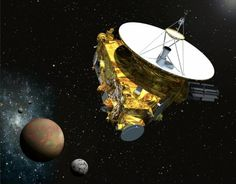 """Nine years after leaving Earth, the New Horizons spacecraft is at last drawing close to Pluto and on Sunday was expected to start shooting photographs of the dwarf planet. The first mission to Pluto began in January 2006 when an Atlas V rocket blasted off from Cape Canaveral in Florida and hauled the piano-sized New Horizons craft away from Earth and on a three-billion mile journey. """"New Horizons is set to begin imaging Pluto today, but with the spacecraft still approximately 130 million ..."""
