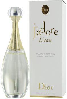 J'adore L'eau Cologne Florale Christian #Dior - ♀ женский парфюм, 2009 год. В настоящее время не выпускается (снят с производства). #parfuminrussia #новинкипарфюмерии #парфюмерия