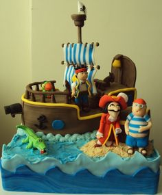 jake+and+the+neverland+pirates+cake | jake and the neverland pirates cake | Liam's Birthday