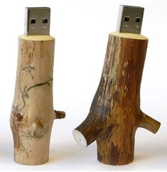 Wood | 27 Reasons To Use Flash Drives From Pinterest