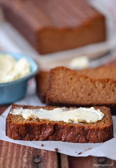 This delicious Pumpkin Gingerbread is grain free and gluten free!