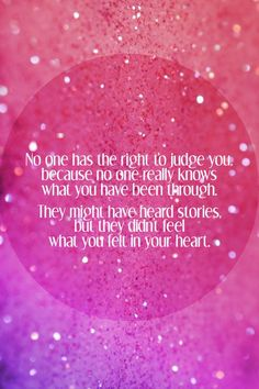 The Right To Judge You