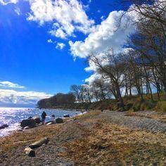 Der Strand von Katharinenhof ist ein tolles Ausflugsziel auf der Insel Fehmarn.