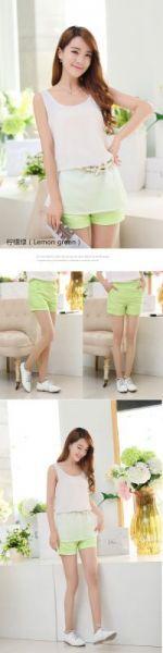 Nhập hàng Quần short thể thao nữ lưng cao giản dị  shop online