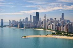 The World's Best Urban Beaches: Chicago claims 26 public beaches along the shores of Lake Michigan.