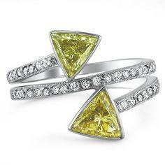 18K White Gold The Dafni Ring