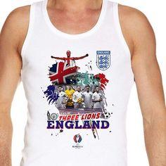 #Euro2016 #ENGLAND #ThreeLions #WayneRooney #PeterShilton #vest #tanktop
