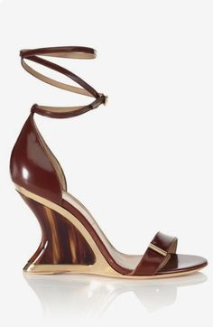 Get inspired and discover Salvatore Ferragamo Accessories trunkshow! Shop the latest Salvatore Ferragamo Accessories collection at Moda Operandi. Hot Shoes, Crazy Shoes, Me Too Shoes, Salvatore Ferragamo, Zapatos Shoes, Shoes Sandals, Wedge Sandals, Gladiator Sandals, Heeled Sandals
