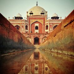 *INDIA ~ mughal emperor Humayun's tomb