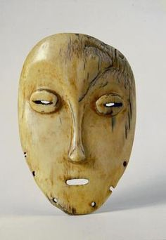 Mask. Central and East Africa, Zaire: Lega. Early 20th century (?). Elephant ivory. h 17.1 cm. Acquired 1953. Robert and Lisa Sainsbury Collection. UEA 269