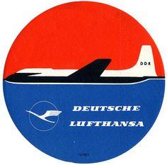 Deutsche Lufthansa, Gepäckanhänger
