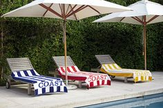 Get ready for summer with the COAST Lux Beach Towels Luxury Beach Towels, Buy Store, Outdoor Furniture, Outdoor Decor, Sun Lounger, Outdoor Spaces, Coast, Cotton, Stuff To Buy