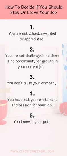 How To Decide If You Should Stay Or Leave Your Job Informations About… Job Career, Career Advice, Career Planning, Current Job, New Job, Leaving A Job Quotes, Change Quotes Job, Job Information, Career Quotes