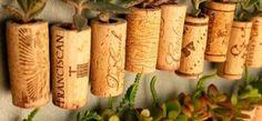 Arma un jardín en miniatura con esta técnica súper fácil y original para plantar suculentas en corchos.