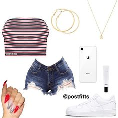 Best Spring Outfits Casual Part 21 Boujee Outfits, Baddie Outfits Casual, Swag Outfits For Girls, Cute Teen Outfits, Cute Outfits For School, Teenage Girl Outfits, Cute Comfy Outfits, Teen Fashion Outfits, Dope Outfits