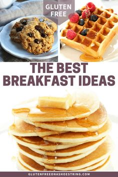 Make-ahead gluten free breakfast ideas are avery valuable commodity. Here are 10 ideas for healthy make-ahead breakfasts that your whole family will love! Healthy Make Ahead Breakfast, Gluten Free Recipes For Breakfast, Gluten Free Breakfasts, Best Breakfast, Breakfast Ideas, No Gluten Diet, Foods With Gluten, Gluten Free Cooking, Sin Gluten