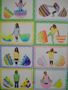 I completed my Easter bulletin board for my classroom. I enjoy doing these projects but they take about two weeks to do. I had the idea mont...