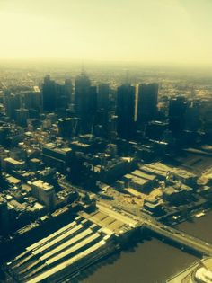 Eureka Tower's landscape!