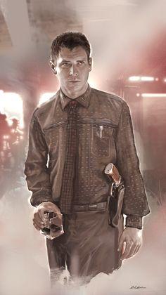 Rick Deckard - Blade Runner - Dave Seguin