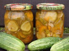 Monia miesza i gotuje: Ogórki w zalewie gyros Tasty, Yummy Food, 20 Min, Pickles, Cucumber, Salads, Curry, Restaurant, Canning
