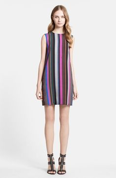 Emilio Pucci Stripe Sleeveless Shift Dress available at #Nordstrom