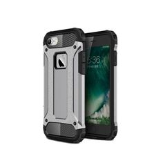 Hybrid Rugged Armor Case For iPhone Plastic Rubber Shockproof Tactical Cover Silver Iphone 7 Plus, Iphone 8 Plus, Diy Phone Case, Iphone Cases, Phones For Sale, Phone Organization, Phone Photography, Purple Rain, Phone Covers