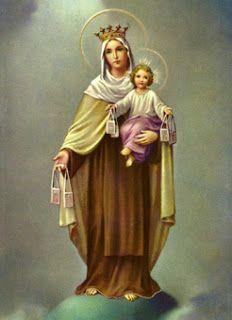 Poemas y Versos: Virgen del Carmen + Oración