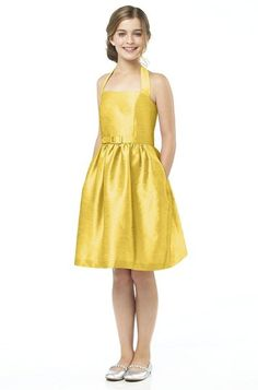 Alfred Sung Jr502 Junior Bridesmaid Dress | Weddington Way