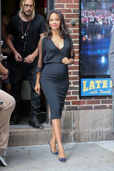 Faces of Black Fashion: This Week in Black Celebrity Style - Nactumu Women Cute Maternity Outfits, Stylish Maternity, Pregnancy Outfits, Maternity Wear, Maternity Dresses, Maternity Fashion, Maternity Looks, Summer Maternity, Pregnancy Fashion