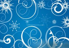Blue Winter Swirls Snowflakes Background Free Christmas Backgrounds, Christmas Background Vector, Snowflake Background, Light Blue Background, Paper Background, Textured Background, Blue Background Wallpapers, Blue Backgrounds, Winter Backgrounds
